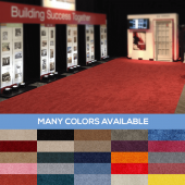 Standard Style Event Carpet - Choose your Size & Color!