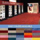 Standard Style Event Carpet - Choose your Size & Color!