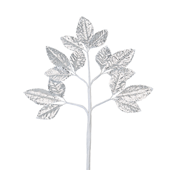 OASIS Corsage Leaf Spray - Foil Silver - 6/Pack