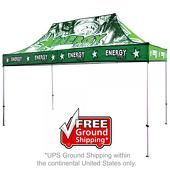 15 ft. Casita Canopy Tent - Aluminum - Full-Color UV Print Graphic Package