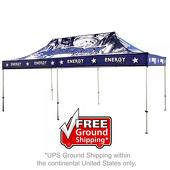 20 ft. Casita Canopy Tent - Aluminum - Full-Color UV Print Graphic Package