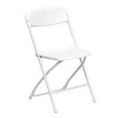 Feather XT™ Plastic Folding Chair - 800 lb Capacity - White