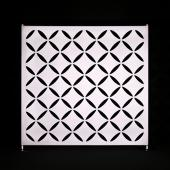 20 x 10ft - Stretch Spandex Atomic Wall w/ Velcro Attachment - Diamond