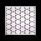 10 x 8ft - Stretch Spandex Atomic Wall w/ Velcro Attachment - Hexagon