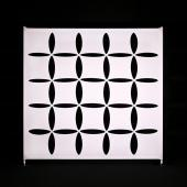 20 x 10ft - Stretch Spandex Atomic Wall w/ Velcro Attachment - Square
