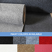 Velour Carpet - Choose your Size & Color!