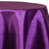 "Violet - Shantung Satin ""Capri"" Tablecloth - Many Size Options"