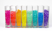 Large Aqua Terra Water Beads - Super Expanding Gel Vase Filler - Assorted Colors