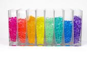 Large Aqua Terra Water Beads - Super Expanding Gel Vase Filler - Assorted Colors