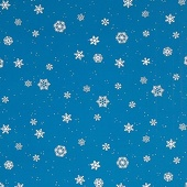 Winter Flakes Corrugated Patterned Paper