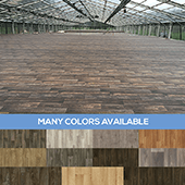 "Rolled ""Wood Floor"" Vinyl - Choose your Color & Size!"
