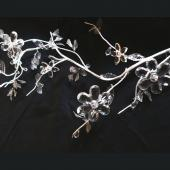 DecoStar™ Acrylic Flower Garland - Crystal