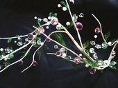 DecoStar™ Large Acrylic Beaded Garland - Pink