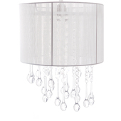 DecoStar™ White Stringed Chandelier