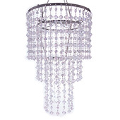 DecoStar™ Crystal Gemstone Beaded Chandelier