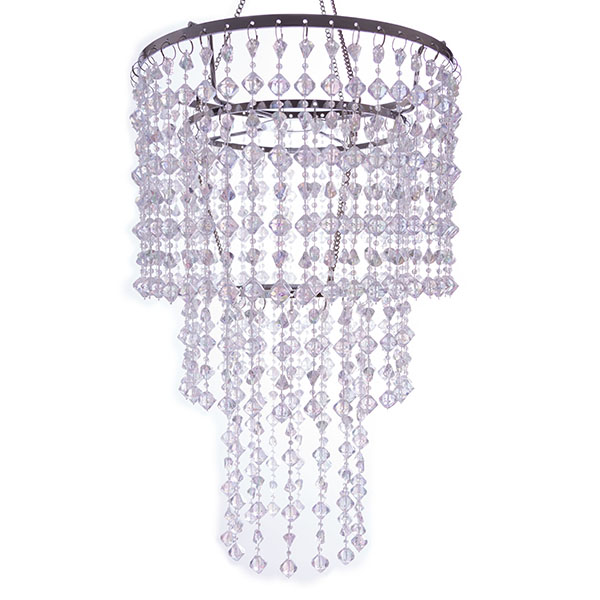 Crystal gemstone beaded chandelier tap to expand aloadofball Gallery