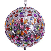 DecoStar™ Large Multi-Colored Hanging Jewel Chandelier