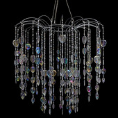 DecoStar™ Large Waterfall Crystal Chandelier