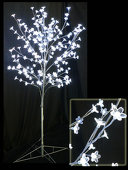 DecoStar™ Blooming Crystal LED Lighted Tree - Crystal