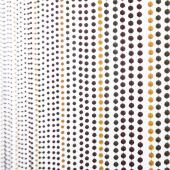 DecoStar™ 6ft Multi-Color Faux Metal Ball Beaded Curtain