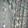 12ft Tall Large Pendant Acrylic Crystal Curtain