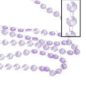 DecoStar™ Lilac 30ft. Acrylic Crystal Beaded Garland (CUSTOMER FAVORITE!)