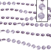 DecoStar™ Smoke 30ft. Acrylic Crystal Beaded Garland (CUSTOMER FAVORITE!)