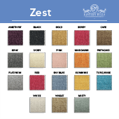 "Zest- 100% Polyester - By The Yard - 117"" Width"