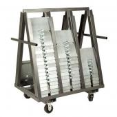 A-Frame Slip-Fit Base Cart - Holds 100 16x14  or 150 8x14 Bases