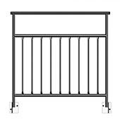 Aluminum Half Vertical Guard Rail - Height Options