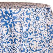Azure - Sophia Designer Tablecloths by Eastern Mills - Many Size Options