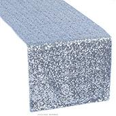 Standard Sequin Table Runner by Eastern Mills - Baby Blue