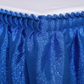 "Table skirt - 17' x 29"" Banjo - Many Color options"