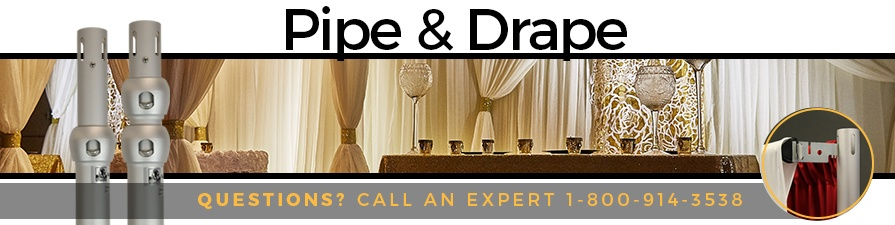 Pipe Amp Drape Pipe And Drape System Event Decor Direct