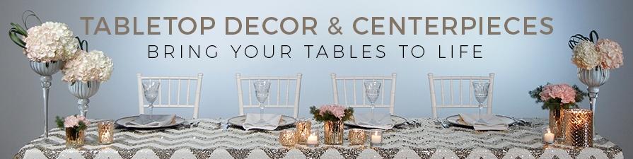 Tabletop Decor U0026 Centerpieces