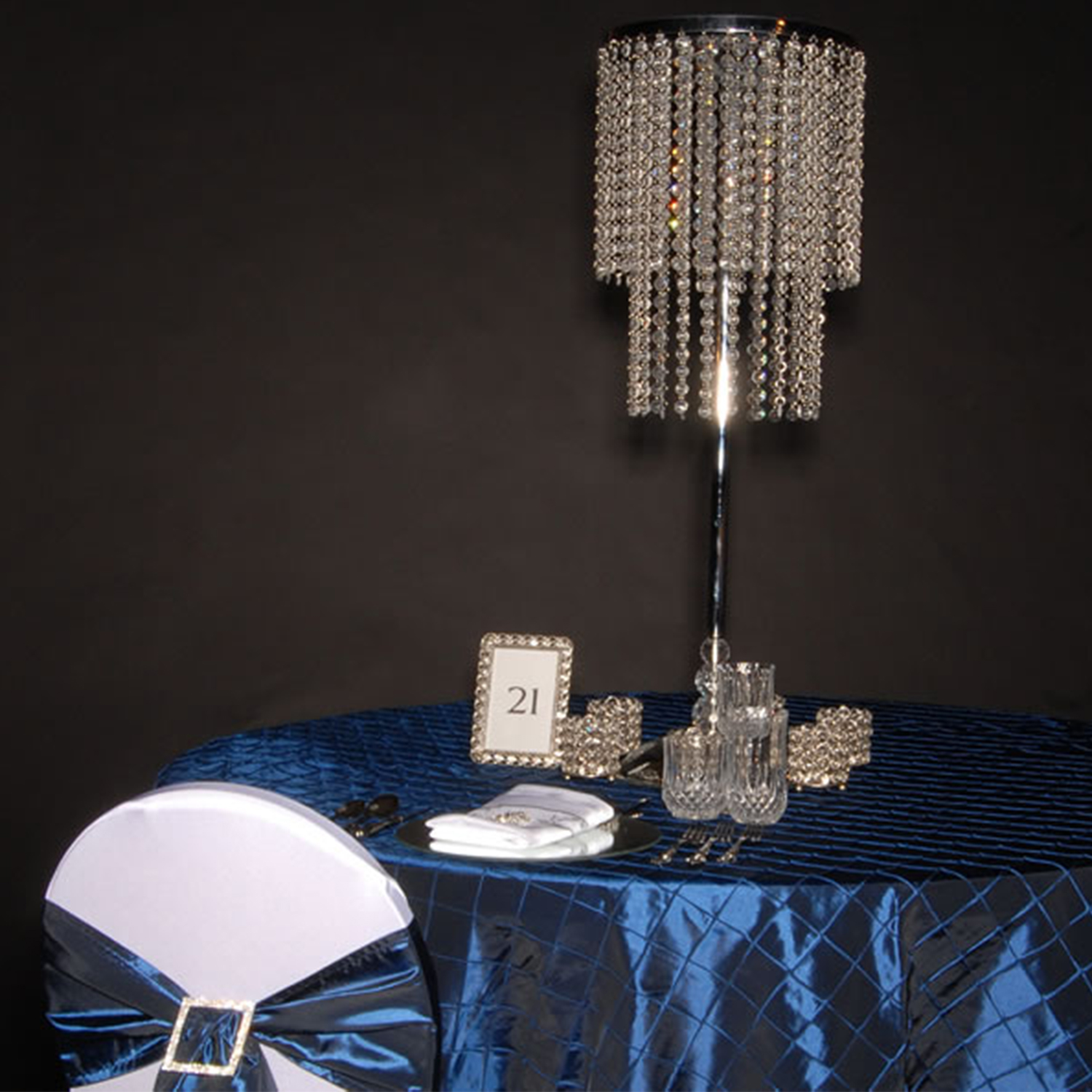 table chandelier centerpieces crystal wedding centerpieces
