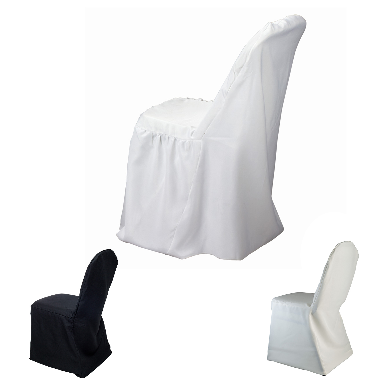 Groovy Bulk Polyester Banquet Chair Cover 12 Pieces Choose Color Camellatalisay Diy Chair Ideas Camellatalisaycom