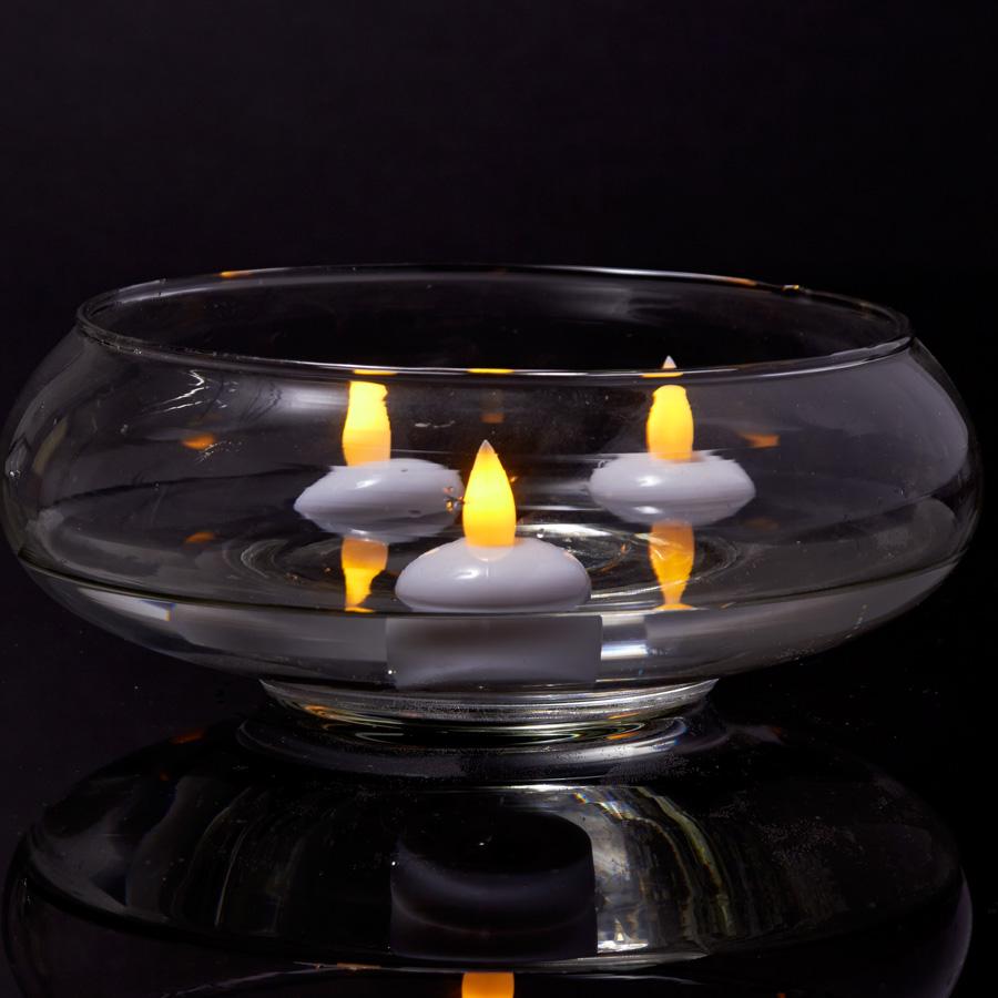 decostar led flameless floating tea light candle pack of 72. Black Bedroom Furniture Sets. Home Design Ideas