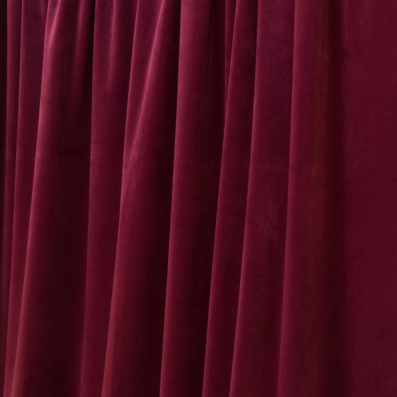 fr bordeaux casablanca velvet designer drape choose your length 57 wide. Black Bedroom Furniture Sets. Home Design Ideas