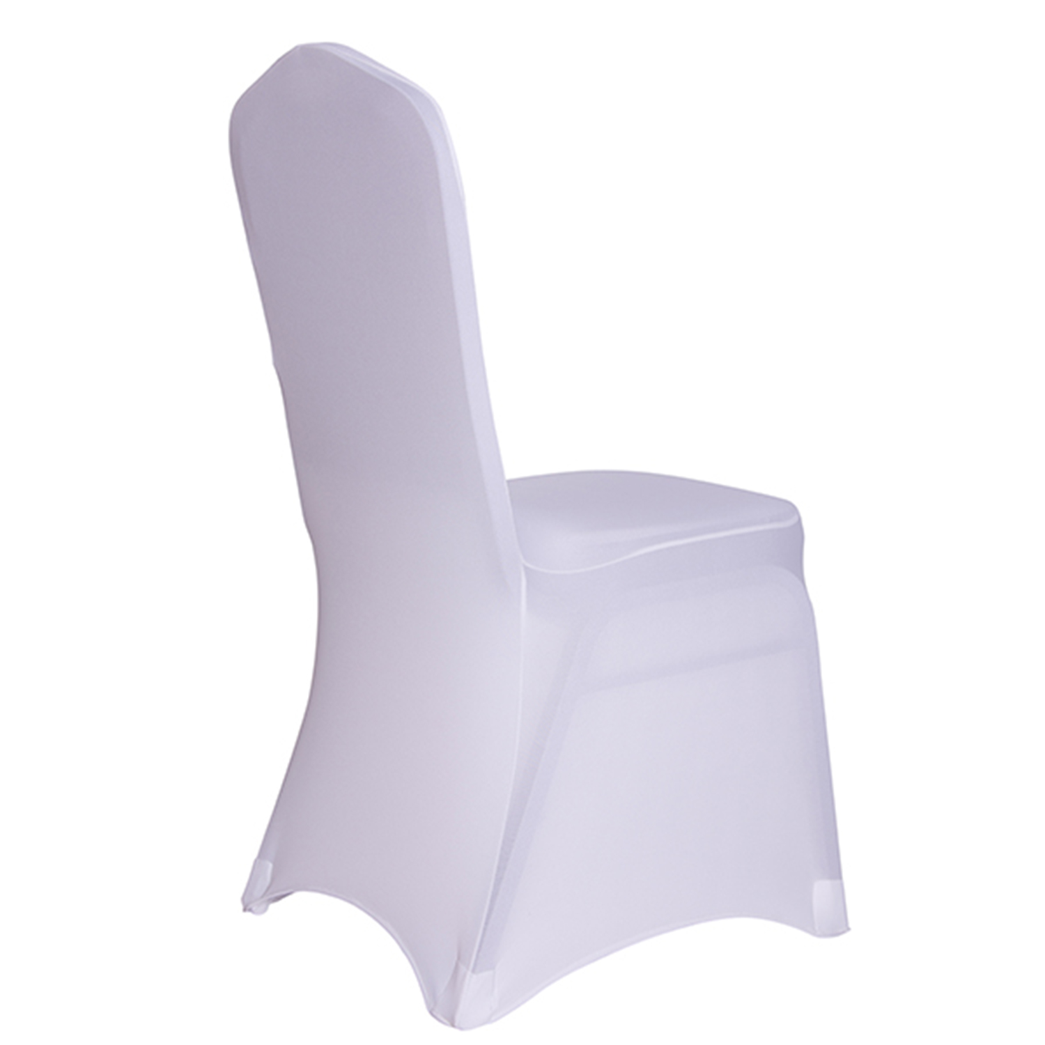 White Spandex Chair Covers White Lycra Chair Covers