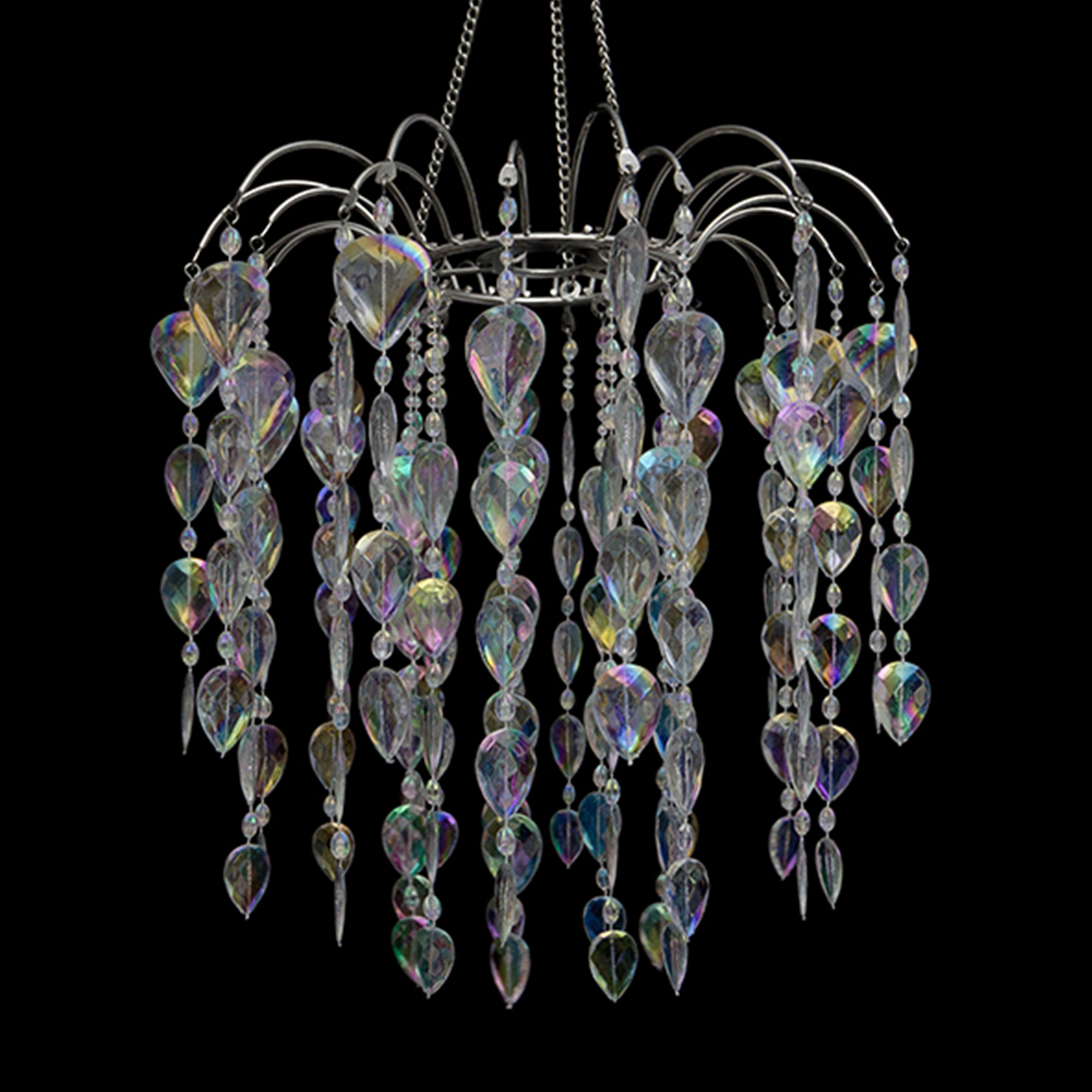 Crystal teardrop chandelier tap to expand aloadofball Images