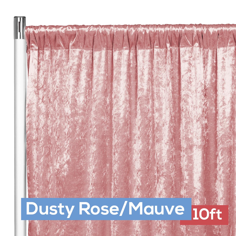 Premade Velvet Backdrop Curtain Panel