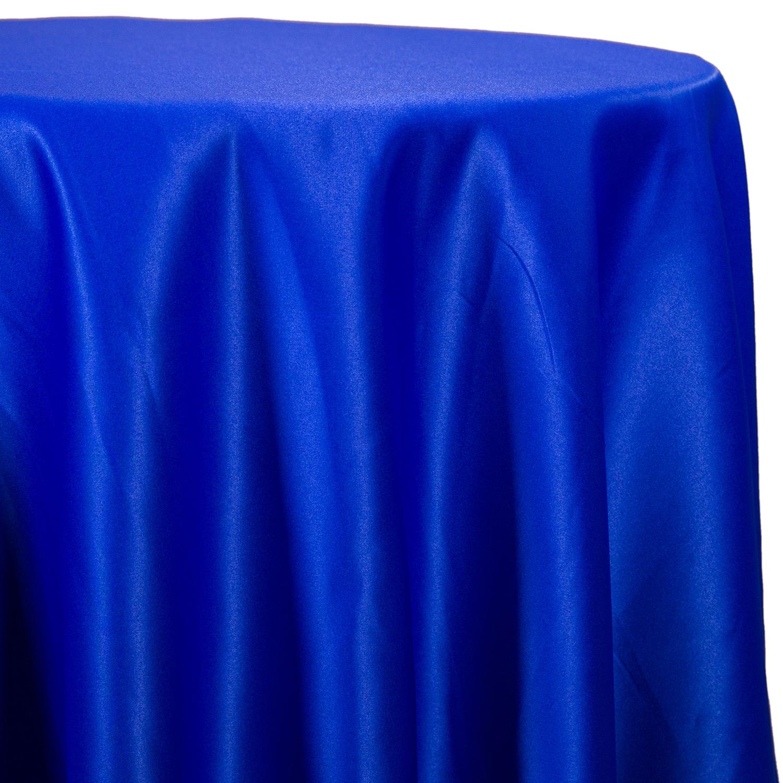 61f066ce44f83 Royal Blue - Lamour Matte Satin Satinessa Tablecloth - Many Size Options