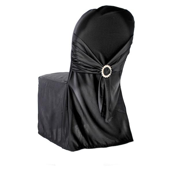 Sensational Premium Scuba Polyester Flex Banquet Wedding Chair Cover By Eastern Mills In Black Color Download Free Architecture Designs Scobabritishbridgeorg