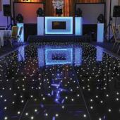 Black LED Starlight Dance Floor Kit - 16ft x 16ft (includes Flight Case) *FREE SHIPPING*