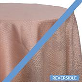 Blush - Extravagant B Tablecloths - DOUBLE-SIDED - MANY SIZE OPTIONS