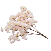 Single Hydrangea Bloom Branch - Interchangeable Branches for Large Event Trees! - Blush/Light Pink