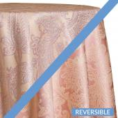 Blush - Martinique Designer Tablecloths by Eastern Mills - Many Size Options