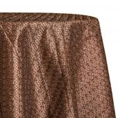 Bronze - Dream Catcher Designer Tablecloths by Eastern Mills - Many Size Options