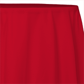 "Red - Polyester "" Tropical Wide "" Tablecloth - Many Size Options"